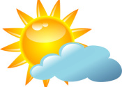 First Half Report Card: Partly Sunny/Mostly Cloudy with Areas of Patchy Fog