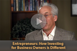 Entrepreneurs. How investing is different