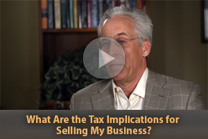 What are Tax Implications for Selling a Business