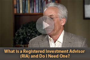 What is a Registered Investment Advisor